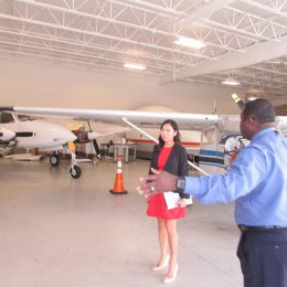 U.S. Congresswoman Visits Aviation Maintenance School to Discuss Training Options for Transitioning Military Servicemembers